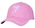 Pink/White Sailfish Cap