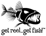 Black Jumbo BAD FISH Fishing Decal