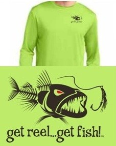 LIME 'BAD FISH' LS PERFORMANCE T
