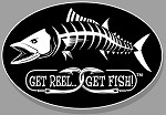 Kingfish Fishing Decal - 6