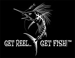 White Jumbo Sailfish Die-Cut Fishing Decal