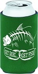 Green Tarpon Fishing Koozie
