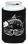 Black Tarpon Fishing Koozie